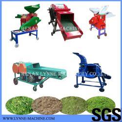 Les bovins d'alimentation de la vache de riz de tiges de maïs/paille/foin sec/machine de découpe de l'herbe
