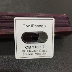 9h мобильного телефона наведите объектив камеры защитный экран для iPhone X