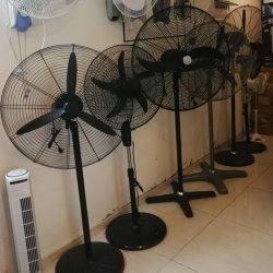 공장 도매 중부하 작업용 강력 안정적인 산업용 냉각 스탠드 팬