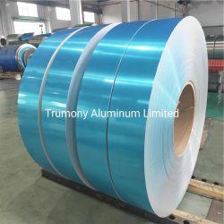 Soldadura de aluminio de aleación de revestimiento / aluminio / Lámina de aleta de la transferencia de calor para la industria del intercambiador de calor / Condensador / evaporador / Radiador / Enfriador de aceite / enfriador de aire