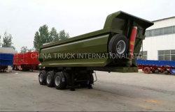 Venda de fábrica do Pino Mestre 90mm 45m3 Semi-Trailer de descarga da caixa de carga