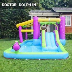 Новый детский летний смешные надувной замок прыжки игры
