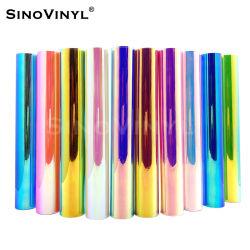 Sinovinyl Chrom Regenbogen Holografische Grafik Schild Aufkleber DIY Handwerk PVC Film
