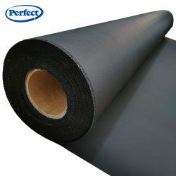 La fibra de vidrio tejido negro