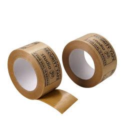 Печать логотипа OEM крафт-бумаги упаковочную ленту Custom крафт-бумаги ленты Kraft ленту