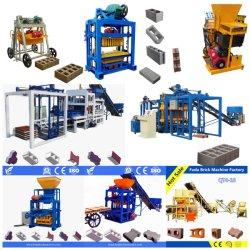 Qt4 24 Manuel de ciment robotisée pavés à emboîtement machines Prix machine à fabriquer des blocs de béton creux