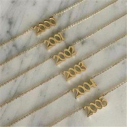 2021 أزياء جديدة مستطيلة أسود قلادة عقد الرجال نمط بسيط سلسلة من الصلب من الصلب للرجال عقد مجوهرات هدية