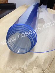 DOP Grau de plástico de PVC transparente flexível os revestimentos de parede
