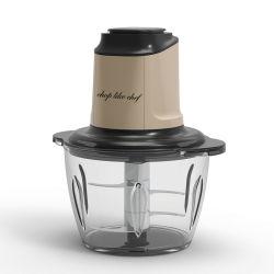 1.5L de Kom van het glas met Veelvoudige Bijl van het Blad van de Laag van het Roestvrij staal de Dubbele Scherpe