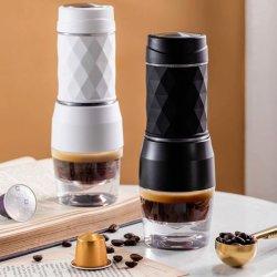 휴대용 미니 아웃도어 용품, 핸드압력 에스프레소 커피 메이커