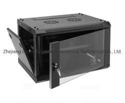 Gfc aus optischen Fasern SPCC Server-Raum-Schrank des kalter Stahl-Netz-4u 6u 9u
