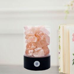 Sal de cristal natural de tijolos para lâmpada de sal