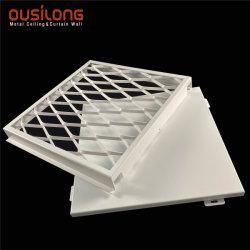 Soffitto di alluminio della maglia perforata sul sistema di sospensione sospeso falso del metallo