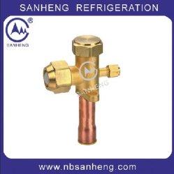 Valvola di servizio in ottone per refrigerazione, valvola AC, valvola di ricambio condizionatore aria