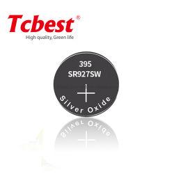 Qualité assurée SR921 SR927 SR936 SR1120 SR1130 Sr43 Sr44 Oxider slivoïde Pile bouton SR927 395 Pile bouton
