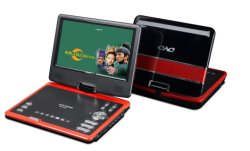 Lecteur DVD portable, avec TV lecteur de carte SD USB de jeu