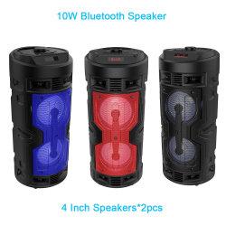 Drahtlose Bluetooth fehlerfreie Lautsprecher-Kasten-Systems-Lautsprecher mit Mic-beweglicher Audiospieler DJ-Fachmann angeschaltenem Multimedia-Verstärker-Lautsprecher