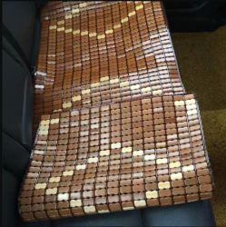 Tamanho universal Chunlong Bambu da almofada do banco do carro