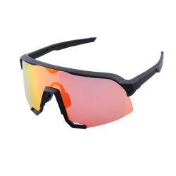 大型レンズスポーツ保護眼鏡バイクは 1 枚のレンズをとゴーグルする スペアクリアレンズ 1 枚