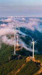 100kw 380V horizontale Wind-Turbine-Energie