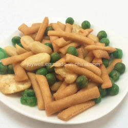Venta caliente galletas de arroz con guisantes de cacahuetes y PM44 con BRC