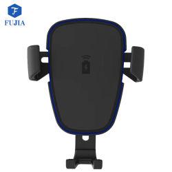Drahtloser Auto-Aufladeeinheits-Schwerkraft-Halter-nette Montierung 10W fasten schnelle Handy-Qi aktivierte bewegliche Aufladung mit Auto-Aufladeeinheits-Adapter