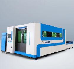 Tabella di funzionamento per il taglio di metalli di scambio del doppio di potere del laser di Raycus della macchina del laser delle 3015 fibre
