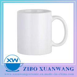 11oz tasse à café en porcelaine céramique standard /tasse pour sublimation avec logo personnalisé