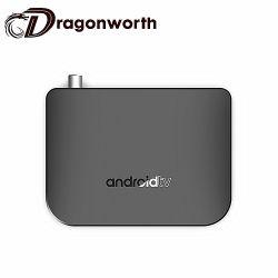 Пакет окно Видео Android телевизор в салоне бесплатные фильмы обновление микропрограммы Amlogic M8s Plus DVB Android TV окно Google Play Store APP
