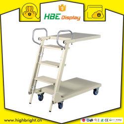 Het Vouwende Vlakke Karretje op wielen van de Bagage van de Ladder van de Lading