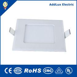 Melhor fábrica Distribuidor Wholesales Saso CB UL 3W-18W Square Ultrafino painel LED fabricado na China para o teto, Escritório, armazenar, Supermercado, Museu,Iluminação de biblioteca