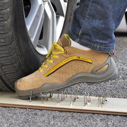 La generación de jóvenes hombres de moda de marca deportiva casual de cuero Zapatos de militares de seguridad laboral