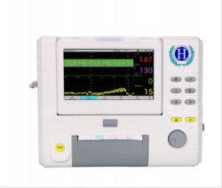 Hmf-8 El equipo médico Portable 7'', pantalla LCD monitor materno y fetal