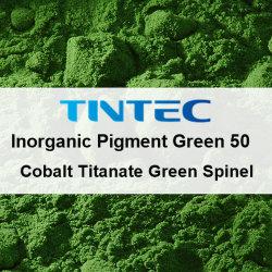 50 (pigment vert inorganiques du cobalt Titanate spinelle vert) pour le plastique