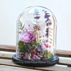 Лучшие подарки сохранить Wholsales образом закрывается сохранить цветы ангела в любви в стеклянный купол