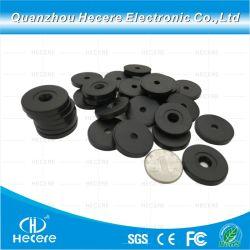小さい札の安い価格のQrコードペット札Ntag213のプログラム可能な受動態PVCディスク小型UHF実行中の洗濯できるNFCディスク札