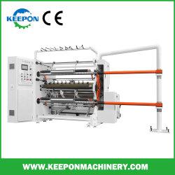 Macchinario automatico caldo metallico di Rewinder della taglierina del foglio per l'impressione a caldo