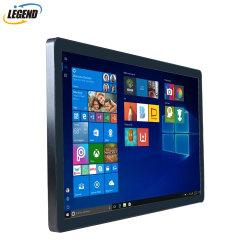 """21.5""""Полностью металлический корпус 1920X1080 Windows 10 промышленных POS сенсорного экрана устройства"""