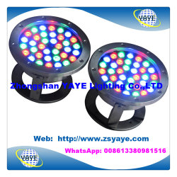 Yaye 18 bestes Schwimmen-Licht des Verkaufs-9With12With18With36W RGB/LED PAR56/LED Unterwasserdes licht-36W LED des Brunnen-Light/36W RGB LED des Pool-Lights/LED mit IP68/AC/DC12/