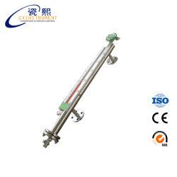 PN16 SS304 المواد ومستوى خزان الزيت المغناطيسي عالي الحرارة المؤشر