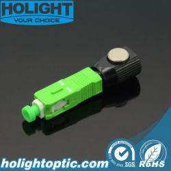 De Optische Singlemode Naakte Adapter Sc/APC van de vezel