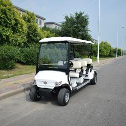 China-Hersteller geben 2 4 6 8 Seater batteriebetriebenes der Doppelventilkegel-touristisches Hotel-weißes elektrisches Golf-Dienstauto mit Cer-Bescheinigung an