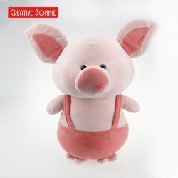 Plush super macio tecido Velboapeles desuínos Rosa Permanente 30cm brinquedo