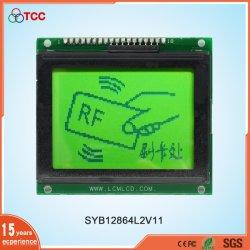 Inteligente mayorista Stn gráfica de 128X64/módulo de visualización positiva controlador KS0107 Pantalla LCD de 18 pins 12864