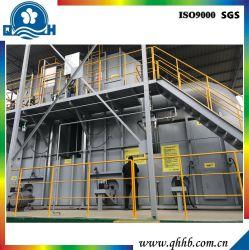 Équipement de traitement de déchets gazeux par méthode de combustion de gaz pour les déchets organiques dans le revêtement et de ligne de peinture