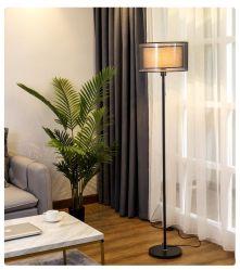 引きスイッチランプのかさの床ランプの簡単で創造的な居間の北欧人ライト