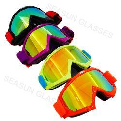 Água Vintage a impressão de transferência da estrutura TPU PC nevoeiro anti UV Lentes400 Motocross óculos de esqui &Esqui Óculos de protecção