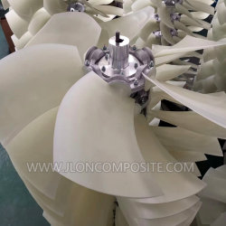 Façon clé d'arbre de ventilateur axial de conduite pour le compresseur