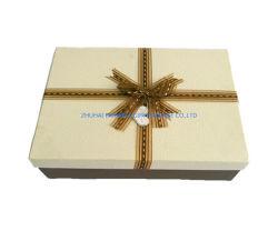 مربع مجموعة هدايا المستطيل 3 مربع مجموعة واحدة مع ورقة التعادل لقوس الشريط سعر جيد