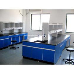 Le bois et acier avec des accessoires de mobilier de laboratoire pour l'école Quipment